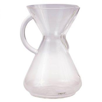 Chemex 10 csészés kávékészítő üvegedény füllel