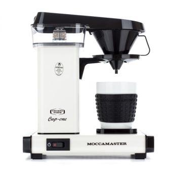 Moccamaster Cup-One egycsészés filteres kávéfőző - krém/fekete/narancssárga