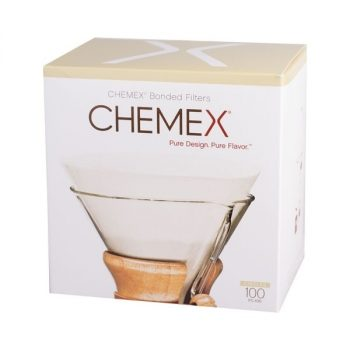 Chemex fehér kör alakú filter papír 6/8/10 csészés 100 db