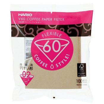 Hario V60-02 Misarashi flex filterpapír barna 100 db