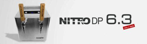 Nitro DP6.3 dupla karos nitro kávé / tea / sör csapoló gázpalack nélküli keg rendszer