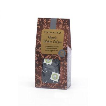 Vintage Teas Organic Earl Grey 20 db piramis filter 50 g