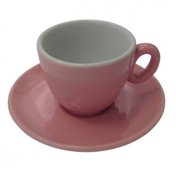 Inkerpor Espresso csésze+tányér 70 ml kék/sárga/menta/piros/rózsaszín/narancs