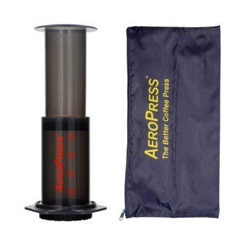 AeroPress kávékészítő hordtáskával