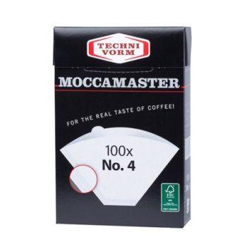 Moccamaster #4 fehér 100 db filter papír