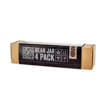Comandante Bean Jar - átlátszó/barna üveg