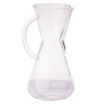 Chemex 3 csészés kávékészítő üvegedény füllel