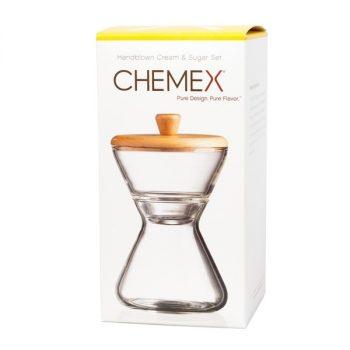 Chemex tej- és cukortartó