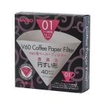 Hario V60-01 filterpapír fehér 40 db