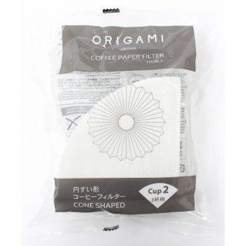 Origami filter papír S - 100 db